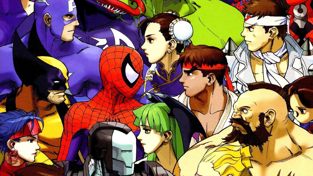 Marvel Vs Campcom