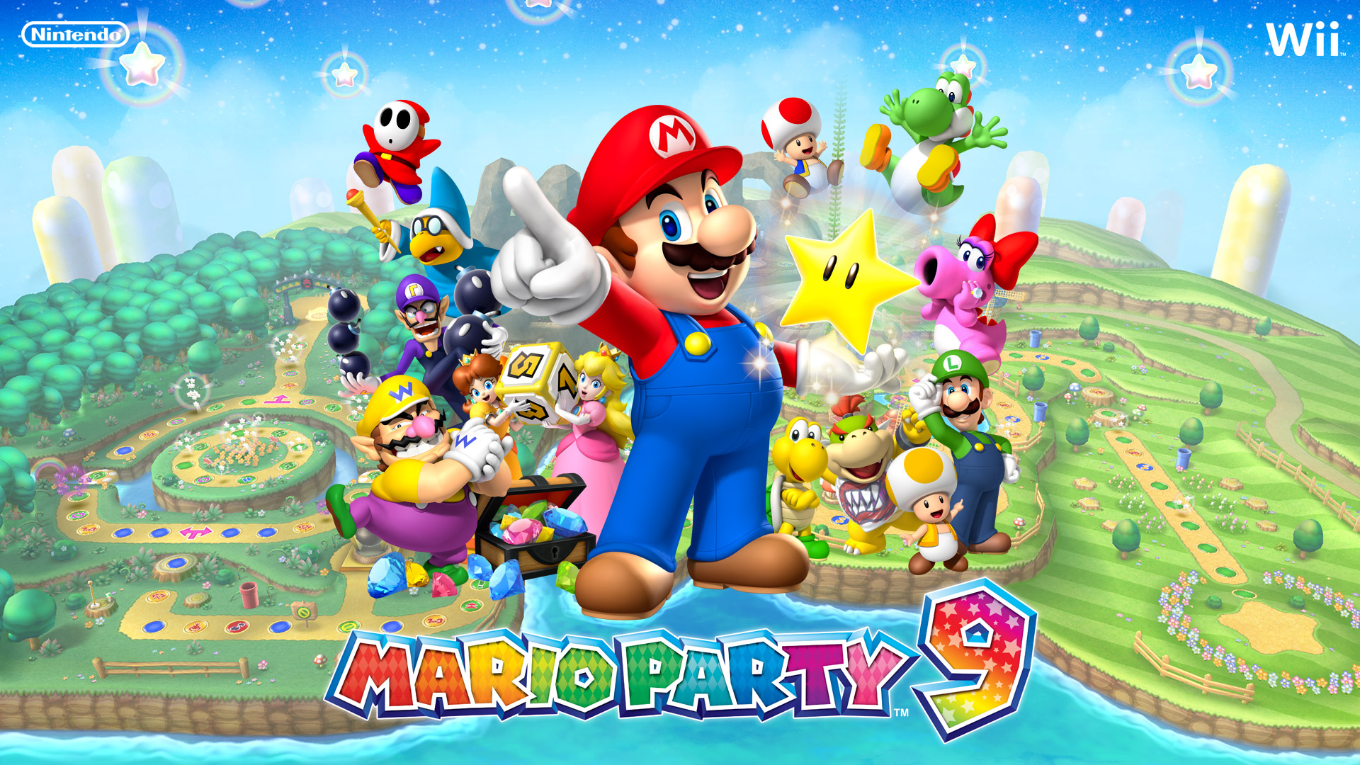 Mario Party 9 Wii Español Mega Mediafire Emu Games